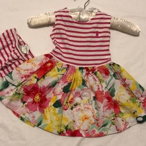Ralph Lauren dress with matching bloomers